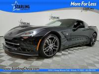 Corvette Stingray Z51, 2D Coupe, 6.2L V8, 8 Speed