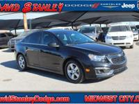 CARFAX One-Owner. Clean CARFAX. 2015 Chevrolet Cruze