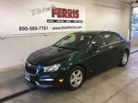 Options:  2015 Chevrolet Cruze 1Lt|**Remote