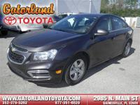 NEW ARRIVAL! PRICED BELOW MARKET! THIS CRUZE WILL SELL