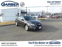 Introducing the 2015 Chevrolet Cruze 1LT Auto!