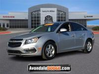 Delivers 38 Highway MPG and 26 City MPG! This Chevrolet