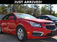 Just Reduced! This Cruze features: Bluetooth, OnStar,