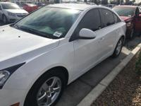 Look at this 2015 Chevrolet Cruze LT. Its Automatic
