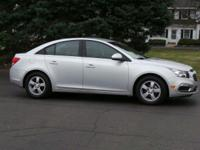 Options:  2015 Chevrolet Cruze Lt|Silver/|V4 1.4L