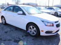 2015 Chevrolet Cruze 1LT Summit White Recent Arrival!