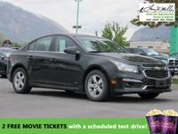 CarFax 1-Owner, This 2015 Chevrolet Cruze LT will sell