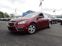 CARFAX One-Owner. Clean CARFAX. Maroon 2015 Chevrolet