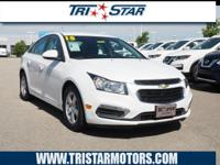 For a smoother ride, opt for this 2015 Chevrolet Cruze