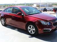 FUEL EFFICIENT 38 MPG Hwy/26 MPG City! LT trim. CARFAX