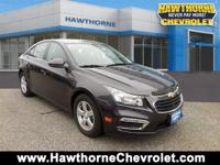 CERTIFIEDCarfax One Owner 2015 Chevrolet Cruze LT