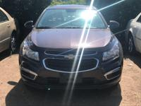 Options:  2015 Chevrolet Cruze Lt|Brown/|V4 1.4L
