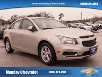 This outstanding example of a 2015 Chevrolet Cruze LT
