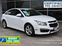 CARFAX One-Owner. Clean CARFAX. Certified. Summit White