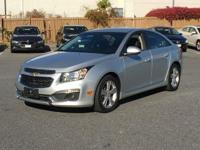 THIS CHEVY CRUZE 2LT COMES WITH HEATED LEATHER SEATS