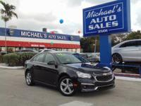 Options:  2015 Chevrolet Cruze 2Lt|Black|Nice Car! Hey!
