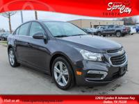 Just Reduced! Clean Vehicle History Report, Cruze 2LT,