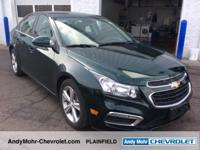 Chevrolet Cruze  Clean CARFAX. Odometer is 4646 miles