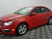 New Price! Certified. This 2015 Chevrolet Cruze in Red