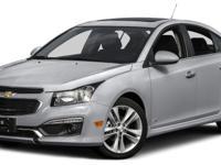 Cruze 2LT, 4D Sedan, ECOTEC 1.4L I4 SMPI DOHC