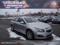 This 2015 Chevrolet Cruze ECO.. Features include: