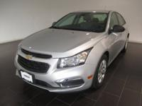 Recent Arrival! 2015 Chevrolet Cruze LS with ONE OWNER,