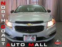 2015 Chevrolet Cruze LS 1.8 liter l-4 engine Beautiful