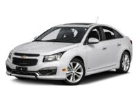 This outstanding example of a 2015 Chevrolet Cruze LS