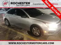 Recent Arrival! Cruze LS Silver Ice Metallic CARFAX