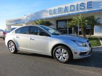 Options:  2015 Chevrolet Cruze 4Dr Sdn Auto