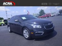 2015 Cruze, 49,610 miles, options include: an Auxiliary