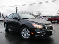 Options:  2015 Chevrolet Cruze Ls Manual|1.8L I4