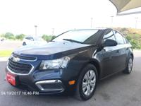 Step into the 2015 Chevrolet Cruze! Roomy, comfortable,