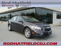 2015 Chevrolet Cruze 1LT FWD 6-Speed Automatic