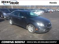Recent Arrival! New Price! 2015 Chevrolet Cruze 1LT