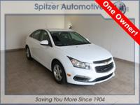 Chevrolet Cruze 1LT CARFAX One-Owner. Clean CARFAX.