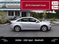 1 Owner Clean CarFax Report - Low Miles - Bluetooth -