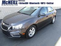 This 2015 Chevrolet Cruze 1LT in Tungsten Metallic