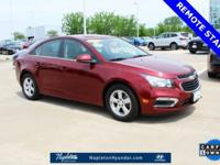 CARFAX One-Owner. Siren Red Tintcoat 2015 Chevrolet