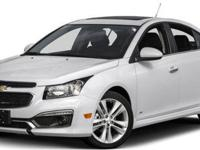 2015 Chevrolet Cruze LT For Sale.Features:LUV MH8 NE1
