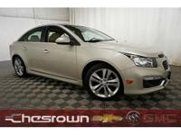 New Price! Cruze LTZ, 6-Speed Automatic Electronic with