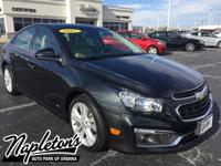 2015 Chevrolet Cruze LTZ in Blue Ray Metallic. Recent