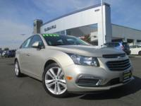 Options:  2015 Chevrolet Cruze Ltz|Champagne Silver