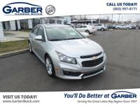 2015 Chevrolet Cruze LTZ! Featuring a 1.4L 4 cyls and