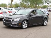Clean CARFAX.  2015 Chevrolet Cruze LTZ Priced below