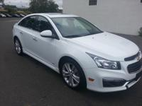 Outstanding design defines the 2015 Chevrolet Cruze! It