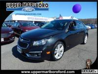 This Chevrolet Cruze has a powerful Turbocharged Gas I4