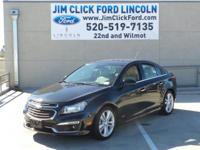 PREMIUM & KEY FEATURES ON THIS 2015 Chevrolet Cruze
