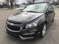LTZ MODEL CHEVY CRUZE LEATHER INTERIOR POWER SUNROOF