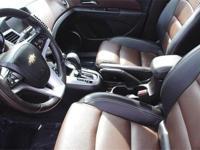 2015 Chevrolet Cruze LTZ. Turbocharged! Red Hot! If